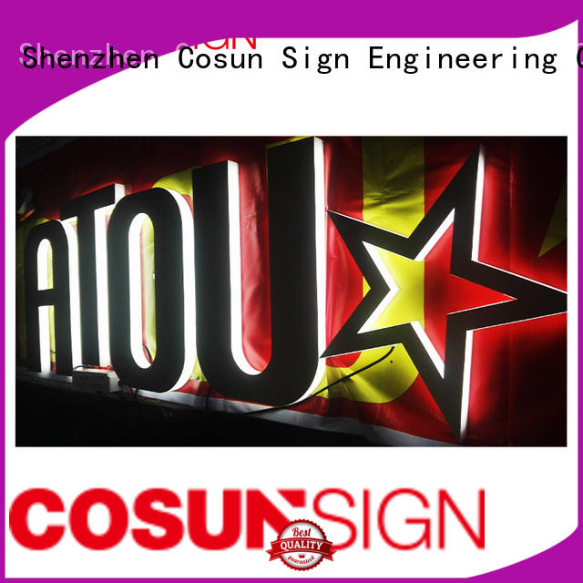 COSUN plastic acrylic frame stand manufacturers for shop