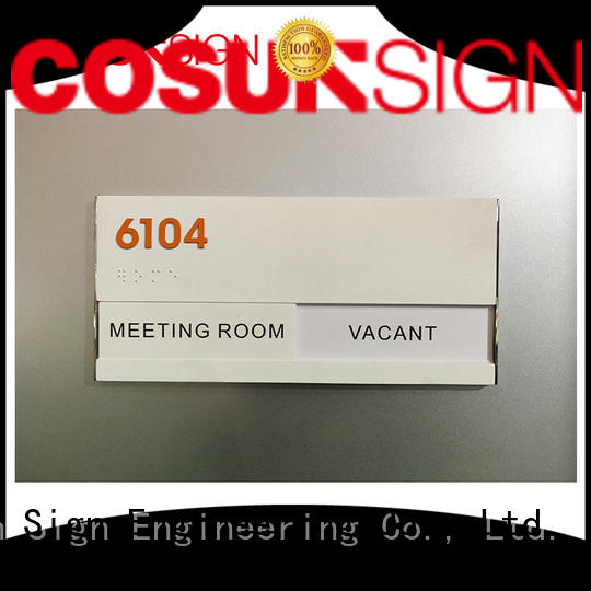COSUN toilet custom made house signs buy for