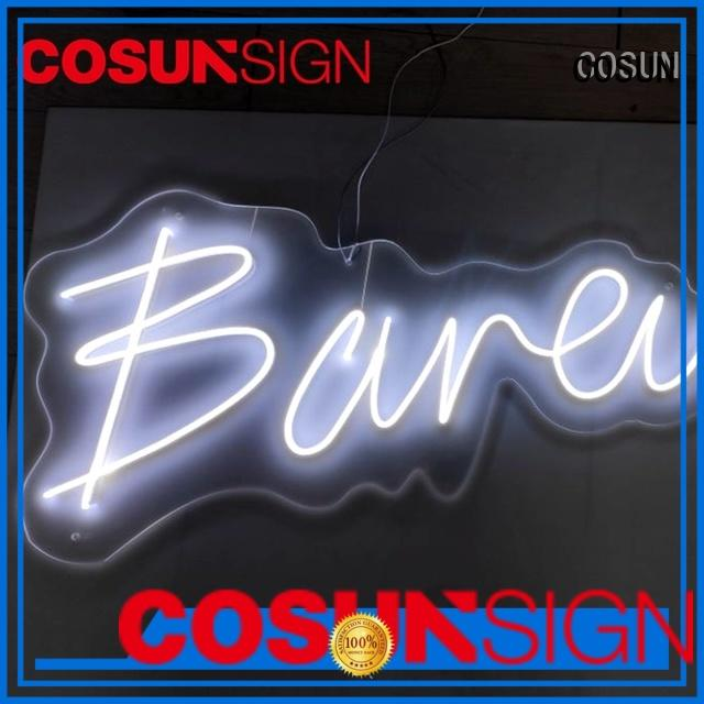 COSUN on-sale home bar neon lights factory for promotion