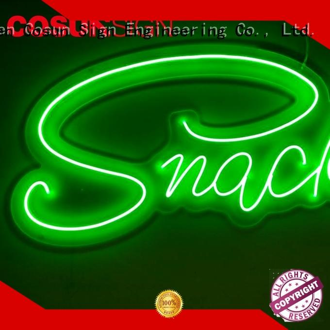 Wholesale best place to buy neon signs on-sale Supply for promotion
