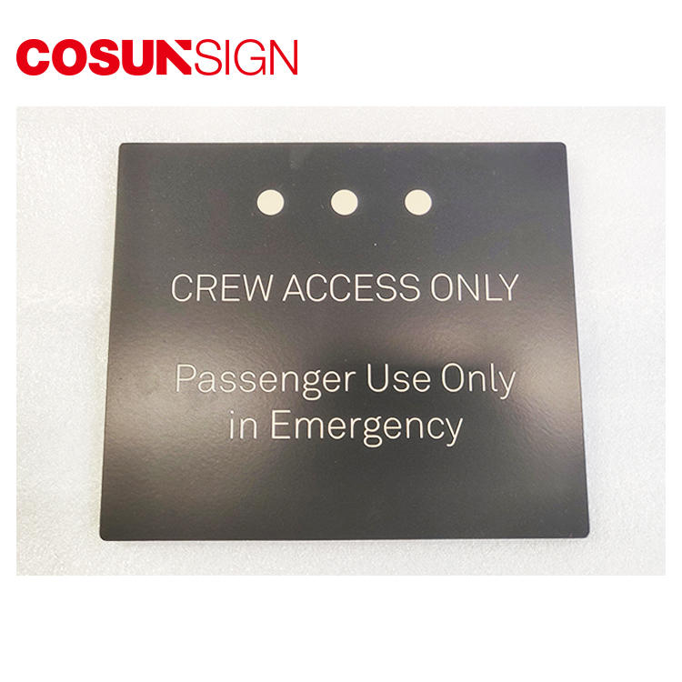 COSUN all size personalized front door signs company house decoration-1