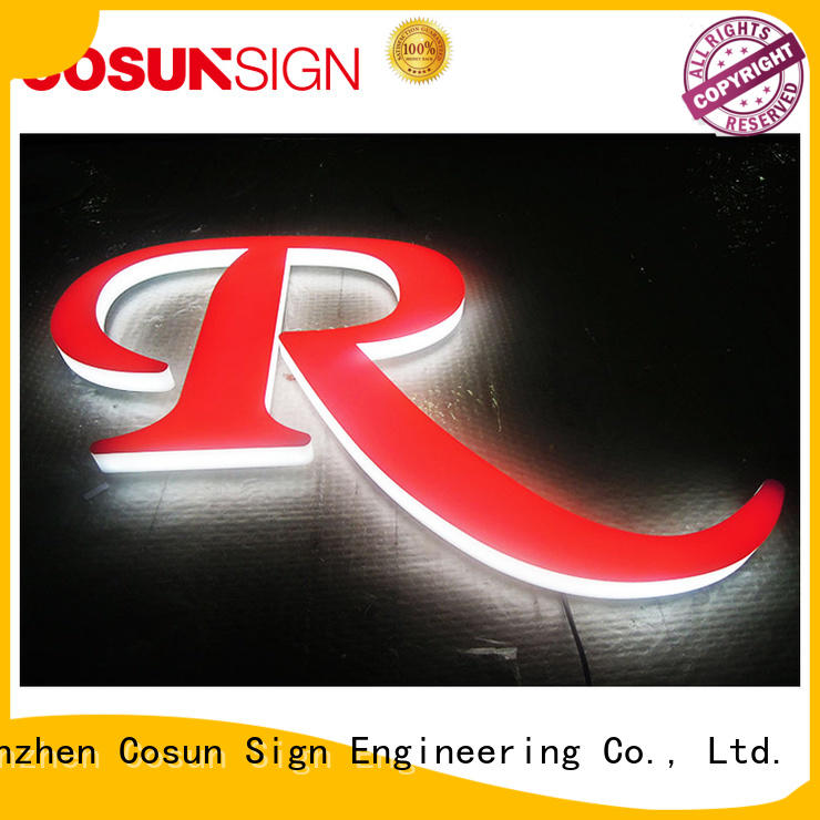 COSUN cheapest price acrylic sign holder manufacturer for pub club