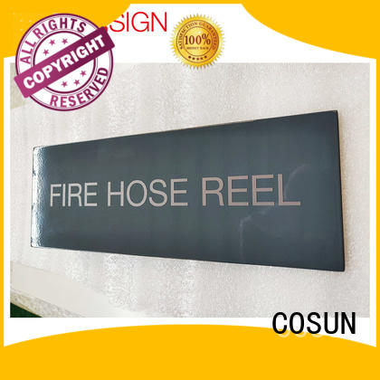 COSUN stainless steel farm signs Suppliers for wholesale