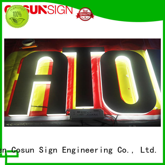 Latest acrylic sign display competitive price on-sale inquire now
