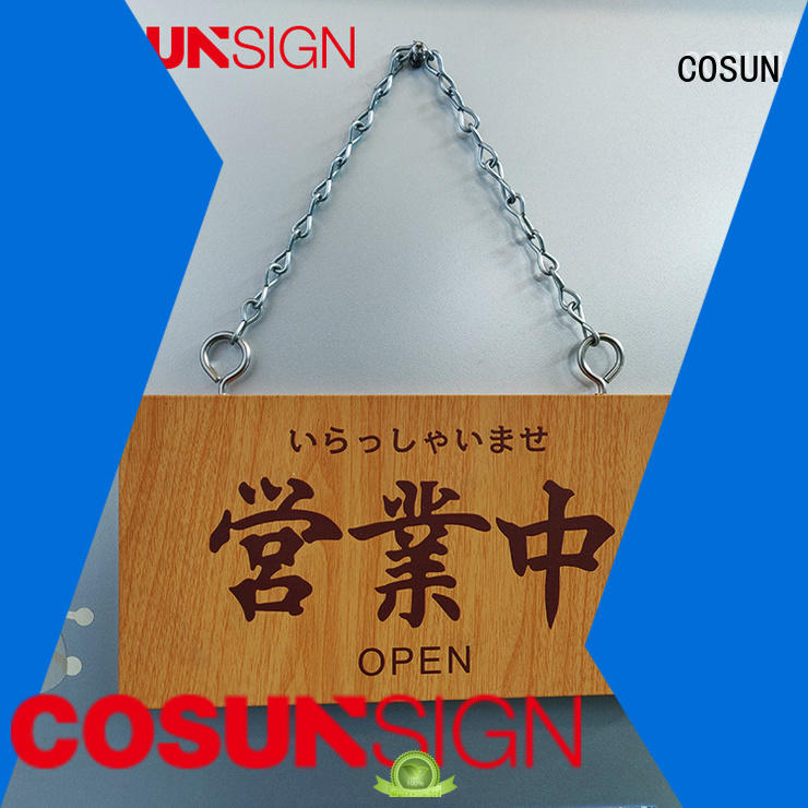 COSUN Wholesale dimensional sign Supply for decoration