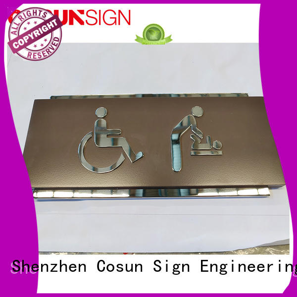 COSUN all size cute office door signs for business for hotel