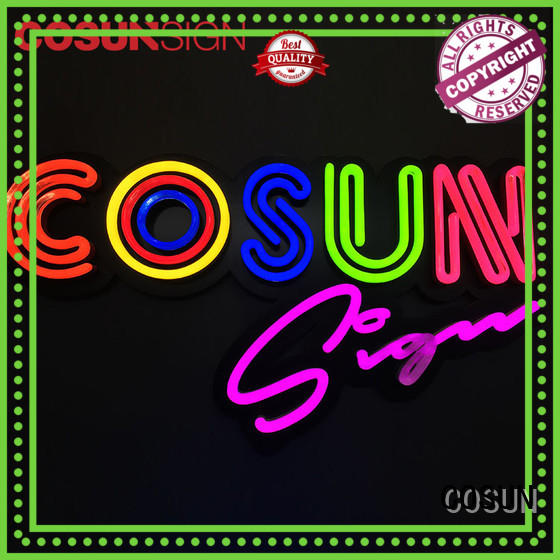 neon sign on-sale for warning COSUN