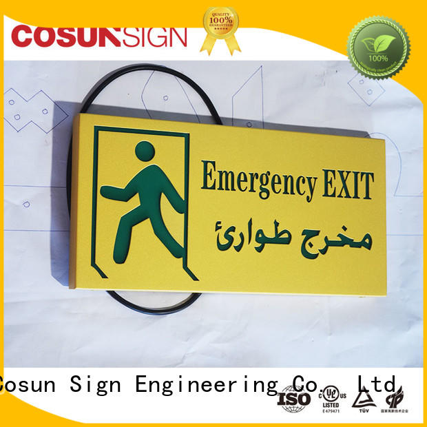 New door sign plate all size Supply for shop