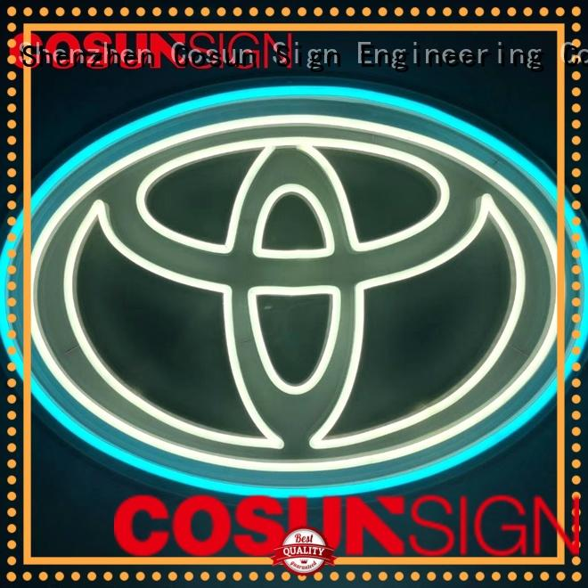 COSUN High-quality neon sign quotes factory for decoration