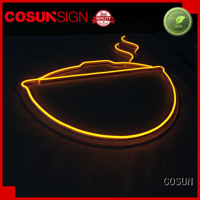 COSUN eye-catching open sign Supply for warning