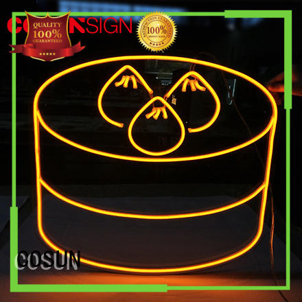 Top cute neon light signs hot-sale for business for warning