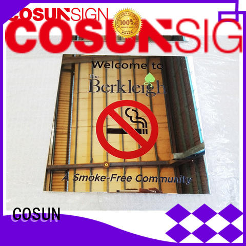 COSUN Best sign on the door manufacturers for shop