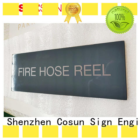 hotel door signage safety sign for door COSUN