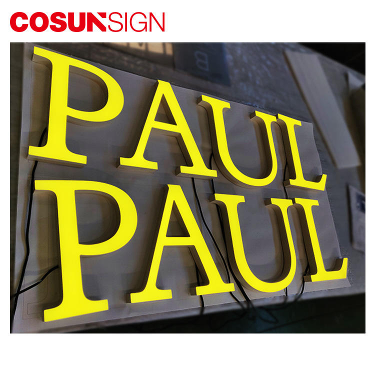 COSUN Custom plastic standing sign holders manufacturers for pub club-2