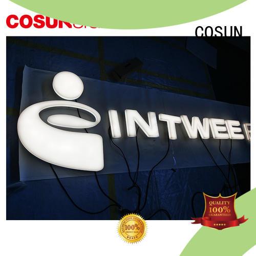 COSUN Top diy acrylic sign for restaurant