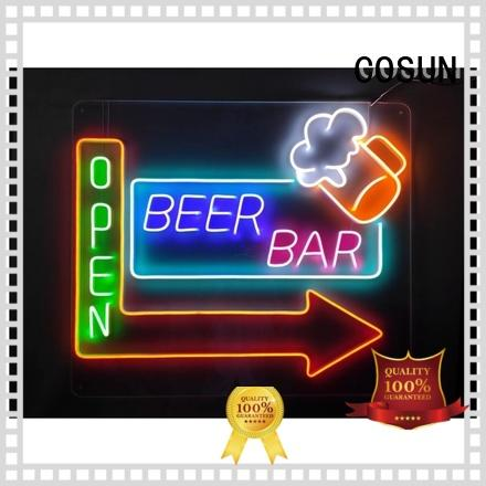 COSUN Custom where to buy neon for business for promotion