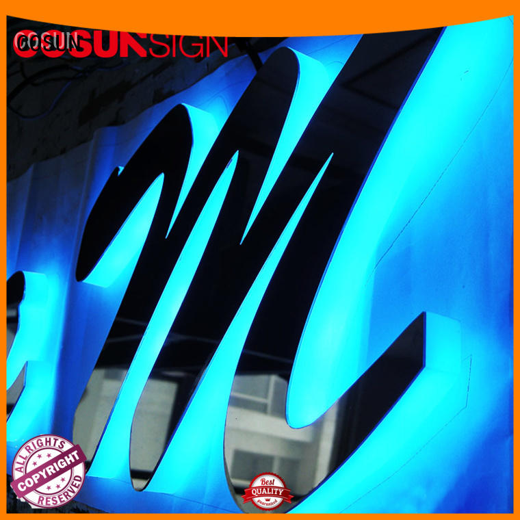 COSUN Best outside sign holder manufacturers for pub club
