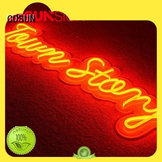 COSUN Top neon letters for sale Suppliers for decoration
