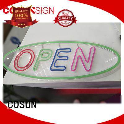 COSUN popular neon light fixtures factory for decoration