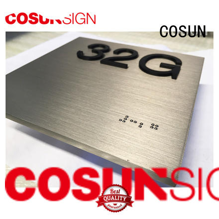 COSUN High-quality dimensional sign manufacturers for bar