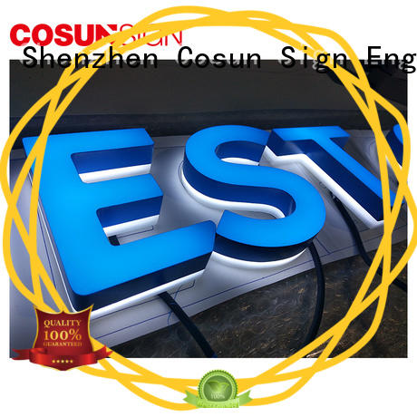 COSUN New sign holder floor easy installation inquire now
