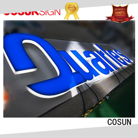 COSUN Best printed perspex panels for restaurant