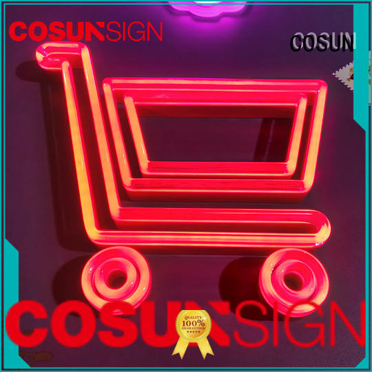 COSUN Latest sign company company for promotion
