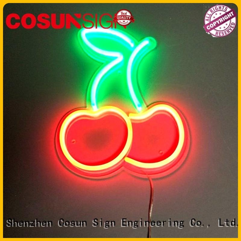 COSUN New neon window lights Suppliers for promoting