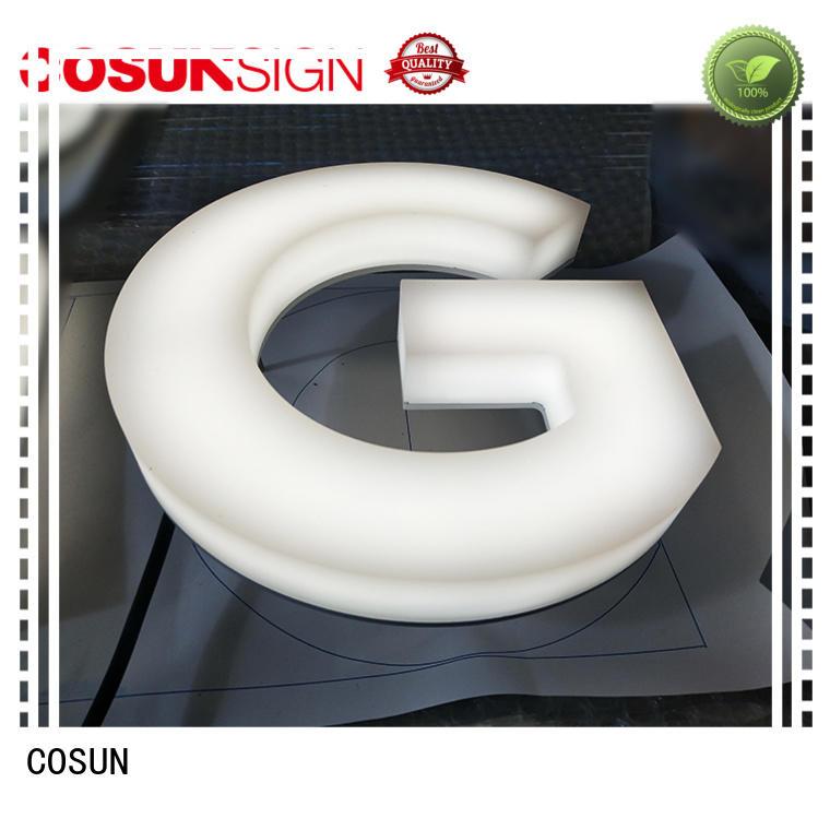 COSUN Custom plastic sign protectors inquire now