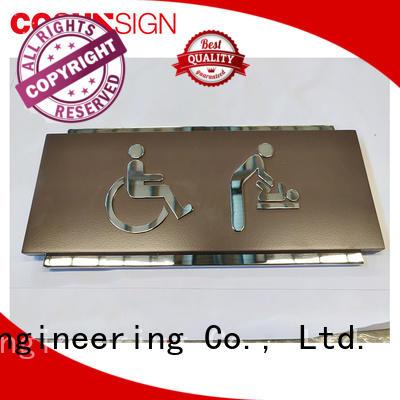 COSUN Wholesale door sign maker manufacturers for door