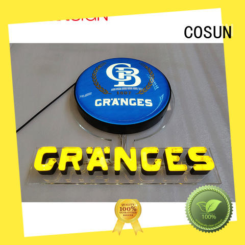 COSUN hot-sale outdoor led signs Supply for decoration
