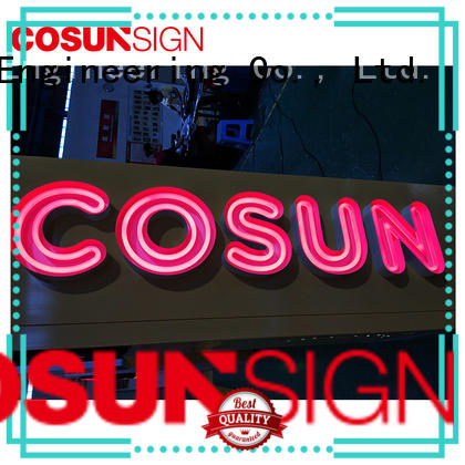 COSUN Custom neon sculptures for sale for business for promotion