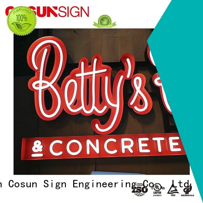 Ul Certified Clear Acrylic Laser Cutting Open Neon Sign