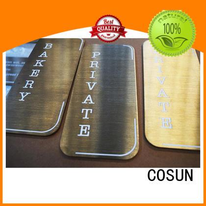 Custom door signs australia acrylic for business for wholesale