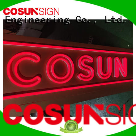 COSUN Wholesale bar signs neon lights Suppliers for warning