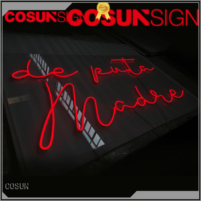 COSUN High-quality home neon bar signs manufacturers for warning