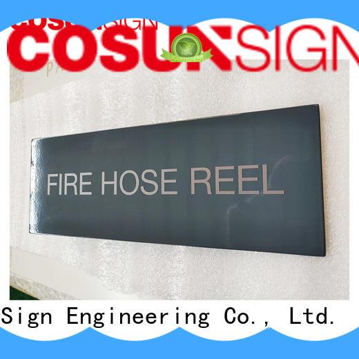 COSUN Wholesale door signs ireland company for hotel