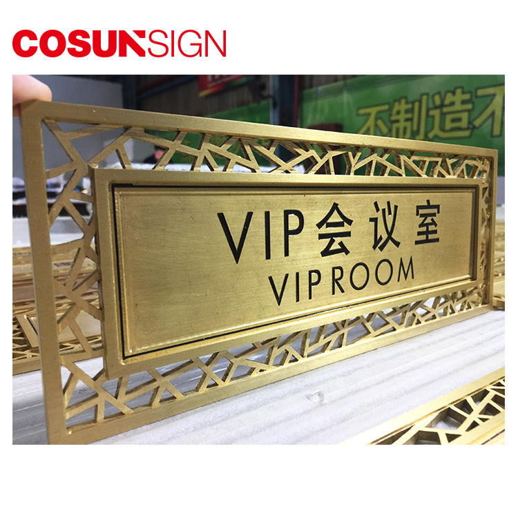COSUN all size office door number signs manufacturers for wholesale-1