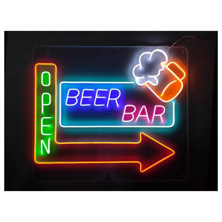 COSUN Wholesale custom neon lights for sale company for warning-1