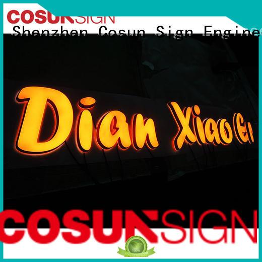 COSUN Custom paper sign holder company inquire now