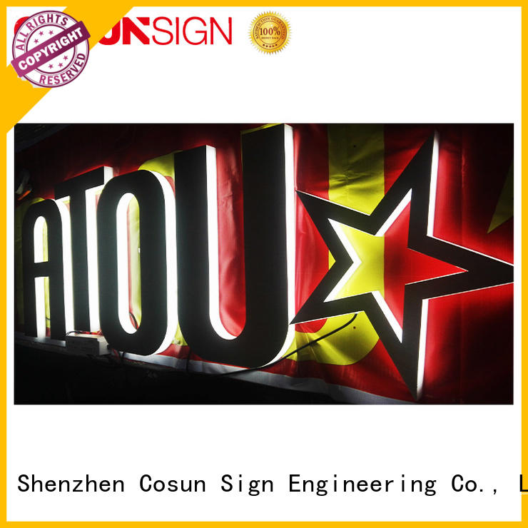 COSUN plastic a4 plastic poster holders for shop