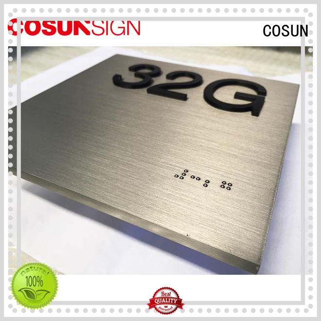 COSUN Wholesale carved signs company for wholesale