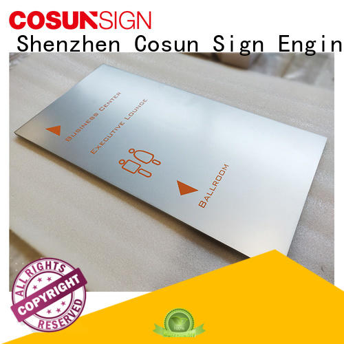 COSUN frame custom address plaques house decoration