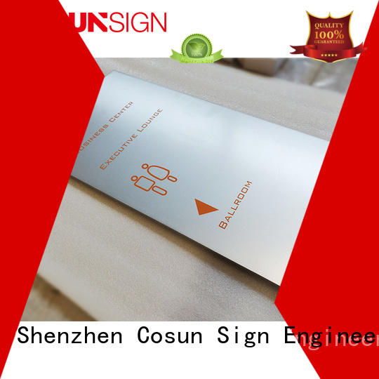 paint acrylic door signs for wholesale house decoration