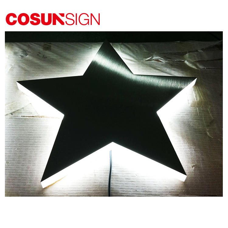 COSUN high-quality acrylic signage price list for restaurant-2