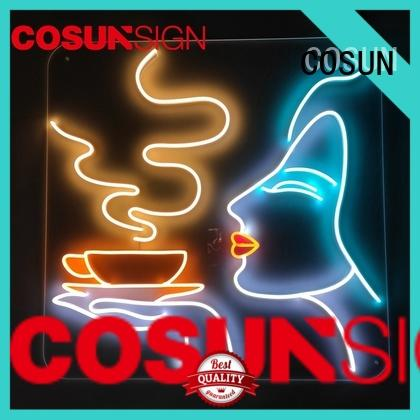 COSUN on-sale alcohol neon signs Supply for house