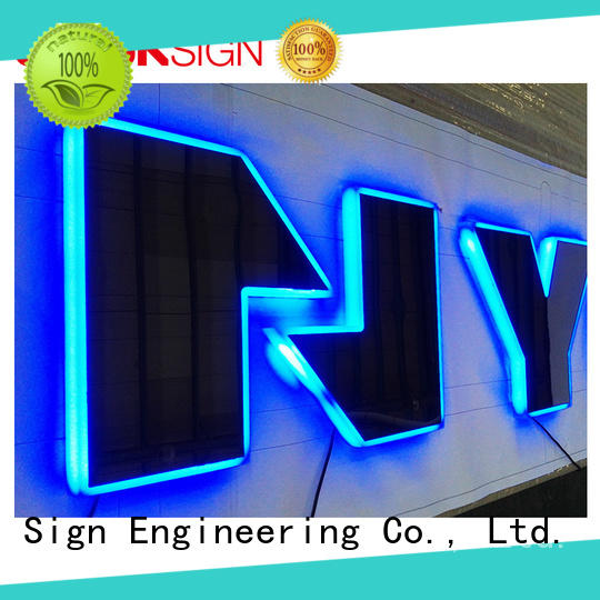 COSUN Wholesale custom acrylic led signs easy installation for pub club