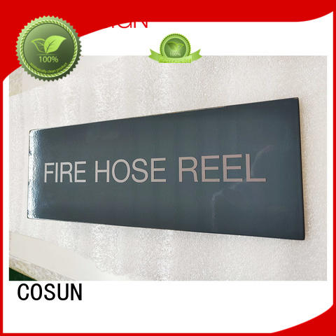 size toilet door signs for bar COSUN