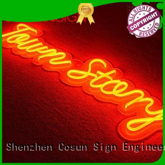 COSUN on-sale restaurant signs Suppliers for promotion