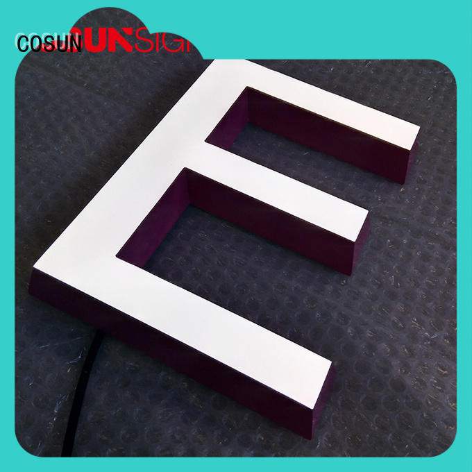 COSUN plastic plastic wall poster holders for restaurant